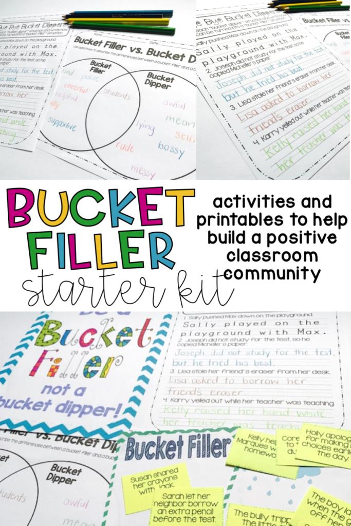 Bucket Filler For Classroom Management Teach Run Create