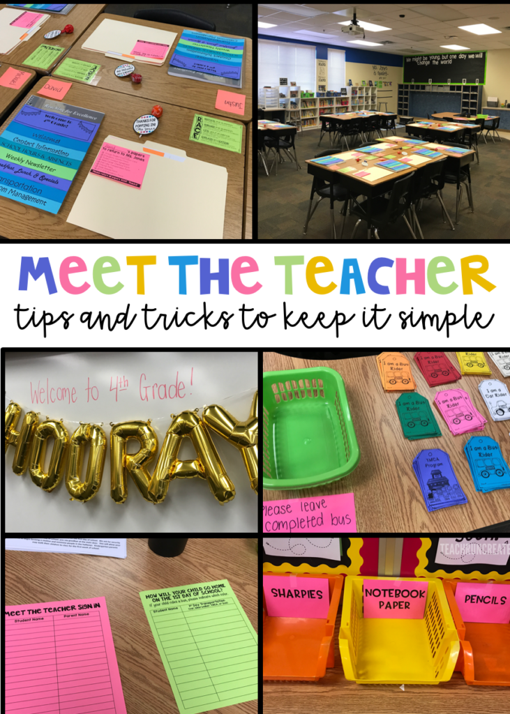 Meet the Teacher 2017 - Teach  Run  Create